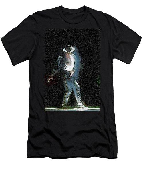 Michael Jackson Men's T-Shirt (Athletic Fit)