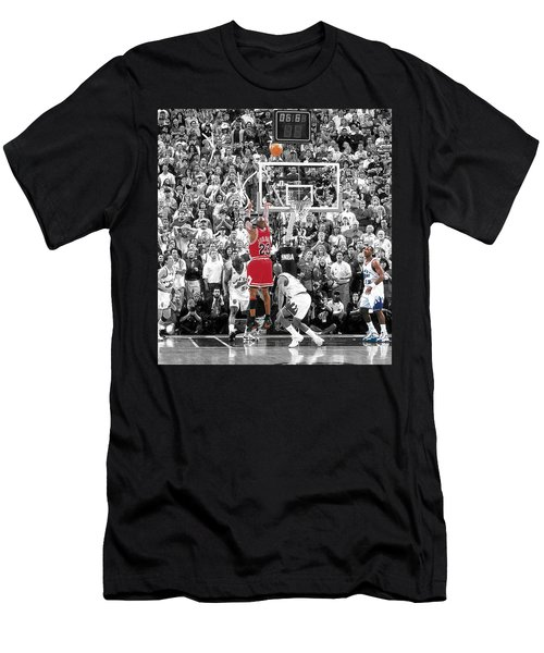 Michael Jordan Buzzer Beater Men's T-Shirt (Athletic Fit)