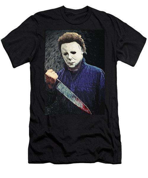 Michael Myers  Men's T-Shirt (Athletic Fit)