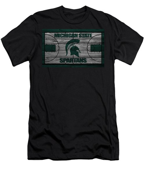 Michigan State Spartans Men's T-Shirt (Athletic Fit)