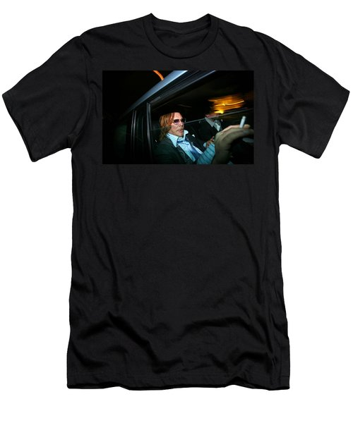 Mickey Rourke  Men's T-Shirt (Athletic Fit)