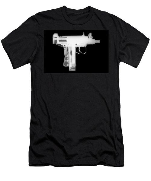 Micro Uzi Reverse Men's T-Shirt (Athletic Fit)