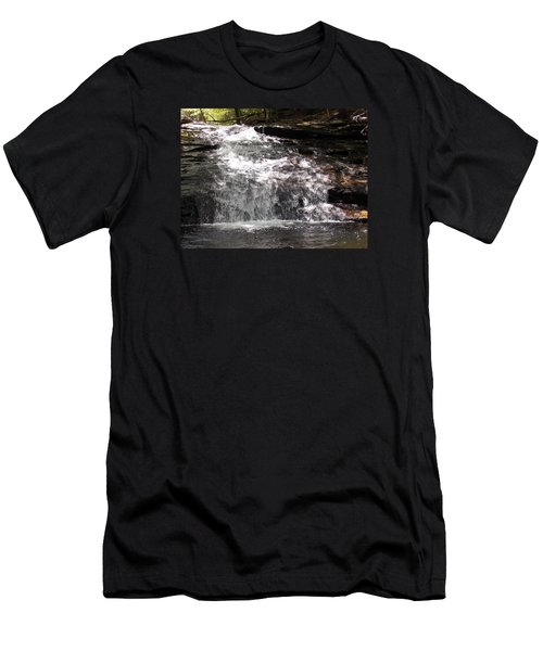 Middle Chapel Brook Falls Men's T-Shirt (Athletic Fit)