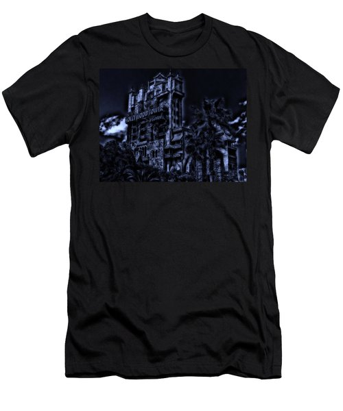 Midnight At The Tower Of Terror Men's T-Shirt (Athletic Fit)