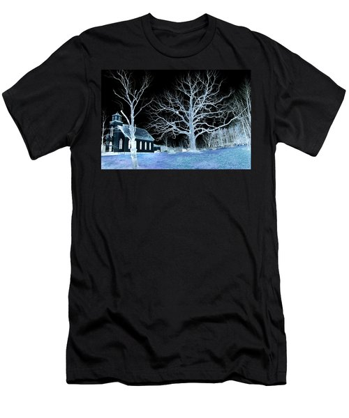 Midnight Country Church Men's T-Shirt (Athletic Fit)