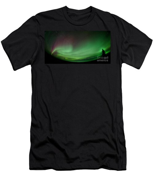 Midnight Dome Men's T-Shirt (Athletic Fit)