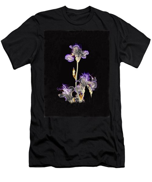 Midnight Iris Men's T-Shirt (Athletic Fit)