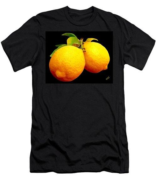 Midnight Lemons Men's T-Shirt (Athletic Fit)