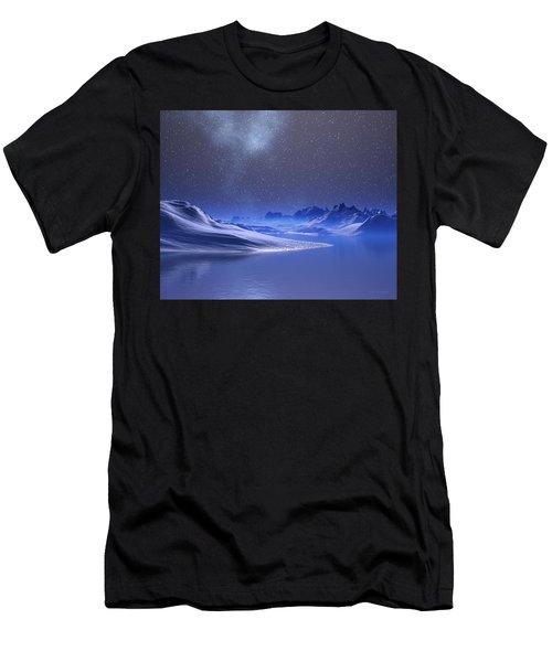 Midnight Snow Men's T-Shirt (Athletic Fit)