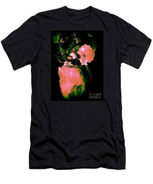 Men's T-Shirt (Slim Fit) featuring the painting Midnight Visit by Bill OConnor