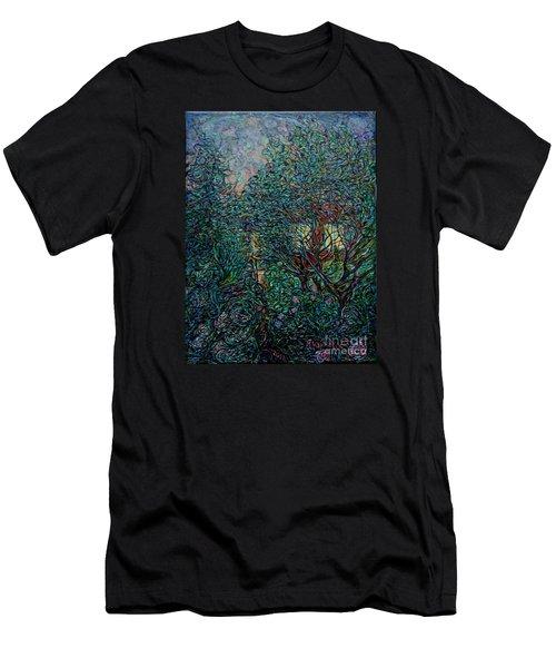 Midsummer Night Men's T-Shirt (Slim Fit) by Anna Yurasovsky