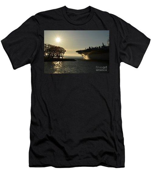Midway Sunset Men's T-Shirt (Athletic Fit)