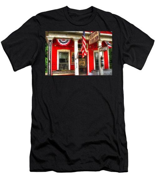 Mike's Barber Shop Men's T-Shirt (Athletic Fit)