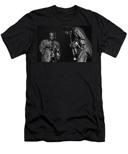 Miles Davis Men's T-Shirt (Athletic Fit)