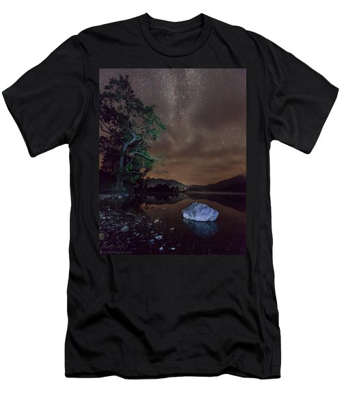 Milky Way At Gwenant Men's T-Shirt (Athletic Fit)