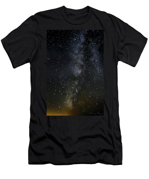 Milky Way Men's T-Shirt (Slim Fit) by Marlo Horne