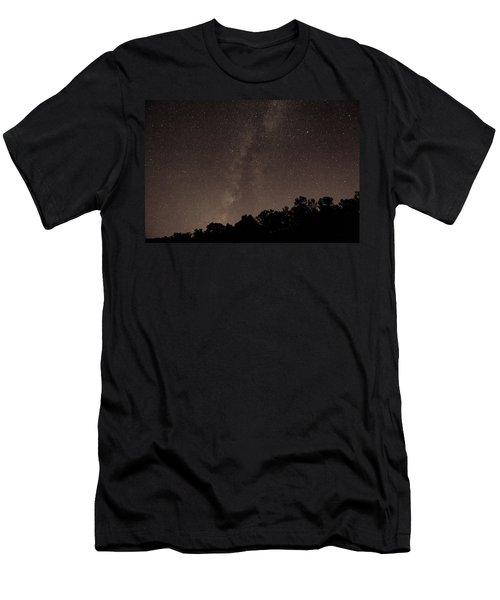 Milky Way Men's T-Shirt (Slim Fit) by Richard Engelbrecht