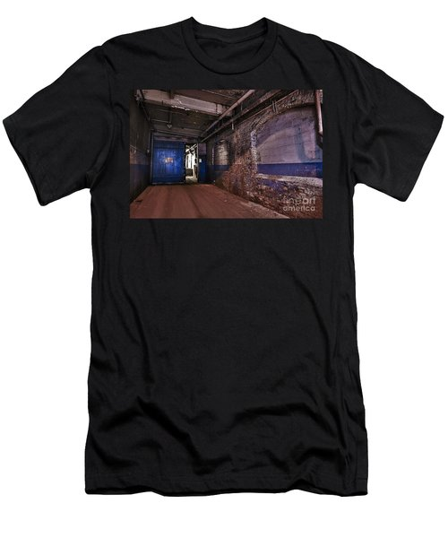 Men's T-Shirt (Slim Fit) featuring the photograph Mill Hall by Alana Ranney
