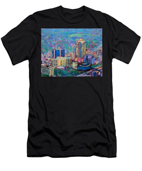 Mill Mountain View Men's T-Shirt (Athletic Fit)
