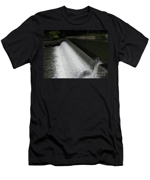 Mill On The River Men's T-Shirt (Slim Fit) by Michael Krek