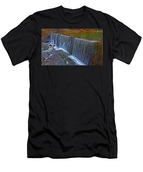 Mill Pond Spillover  Men's T-Shirt (Athletic Fit)