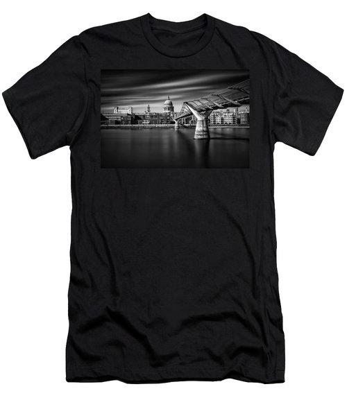 Millennium Bridge Men's T-Shirt (Athletic Fit)