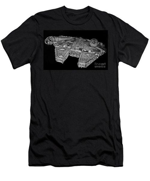 Millennium Falcon Men's T-Shirt (Athletic Fit)