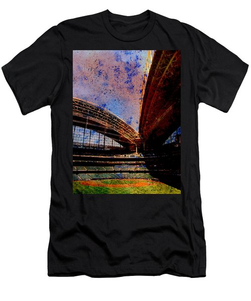 Miller Park 2 W Paint Men's T-Shirt (Athletic Fit)