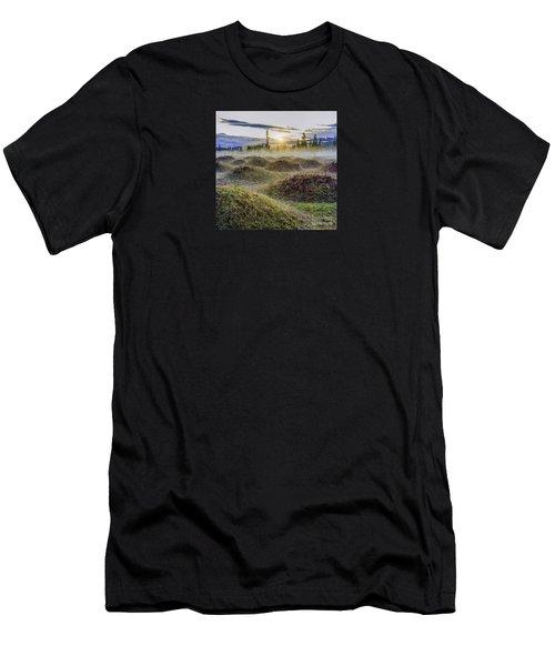 Mima Mounds Mist Men's T-Shirt (Athletic Fit)