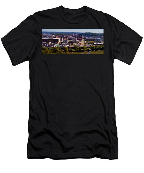 Mini Downtown Parkersburg Men's T-Shirt (Athletic Fit)