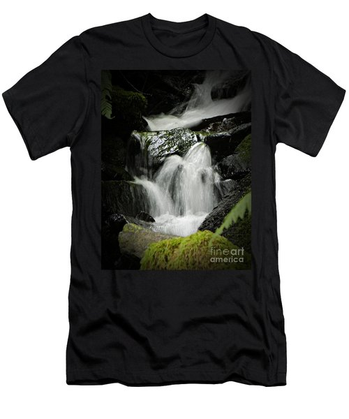 Mini Waterfall 2 Men's T-Shirt (Athletic Fit)