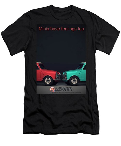 Minis Have Feelings Too Men's T-Shirt (Athletic Fit)