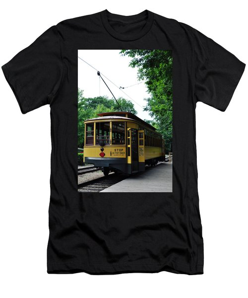 Minnesota Streetcar Museum Men's T-Shirt (Athletic Fit)