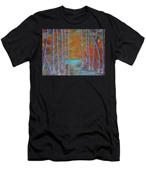 Minnesota Sunset Men's T-Shirt (Athletic Fit)