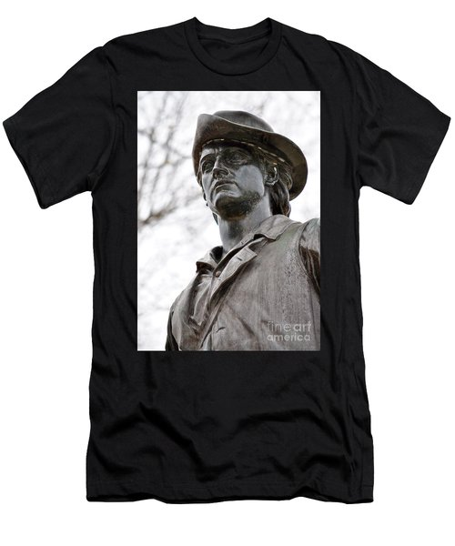 Minute Man Statue 3 Men's T-Shirt (Athletic Fit)