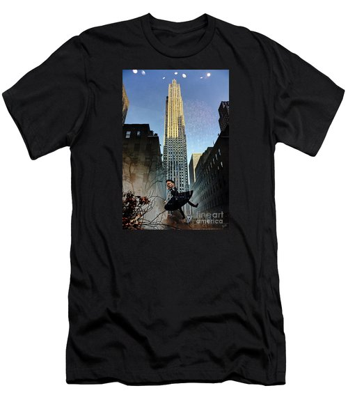 Mirage Of 30 Rockefeller Center Men's T-Shirt (Athletic Fit)