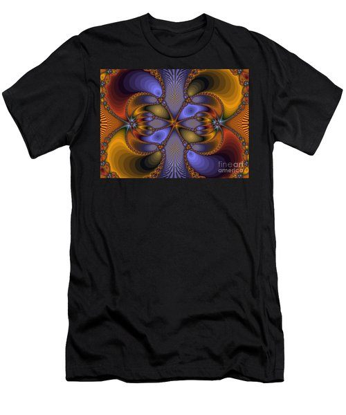 Mirror Butterfly Men's T-Shirt (Athletic Fit)