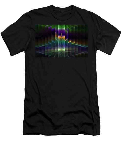 Mirrored Men's T-Shirt (Athletic Fit)