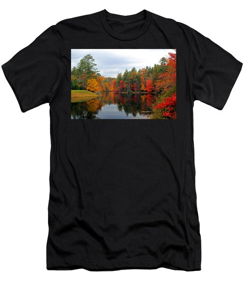 Mirrored Lake Men's T-Shirt (Athletic Fit)