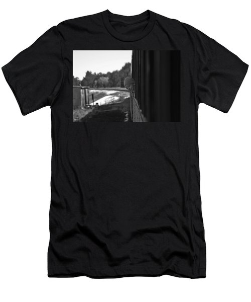 Men's T-Shirt (Slim Fit) featuring the photograph Mischief by Jeremy Rhoades