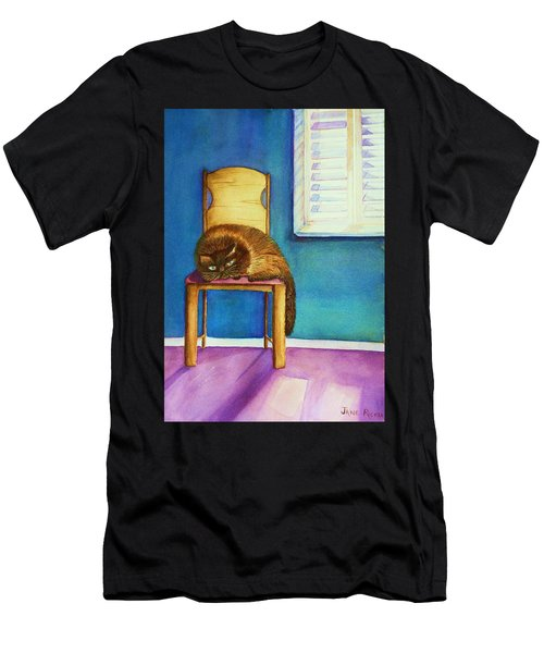 Kitty's Nap Men's T-Shirt (Athletic Fit)