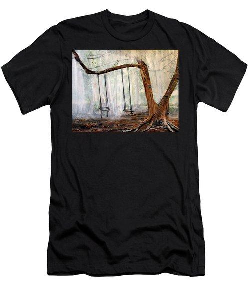 Missing Children Men's T-Shirt (Slim Fit) by Marilyn  McNish