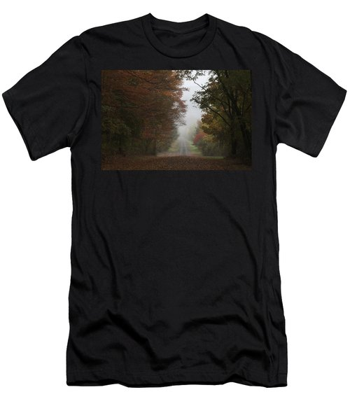 Misty Fall Morning Men's T-Shirt (Athletic Fit)