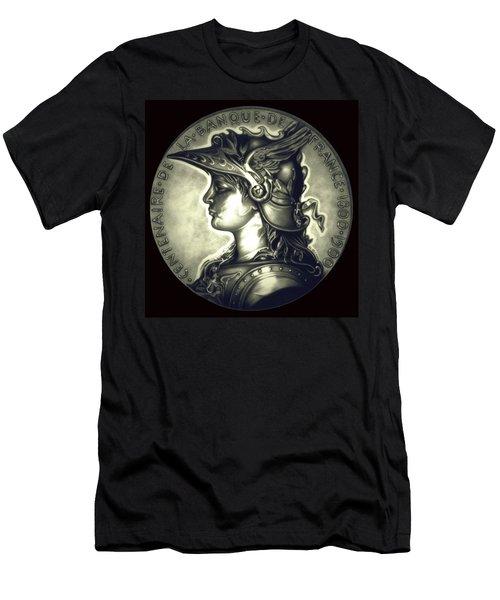 Misty Midnight Black Marianne Men's T-Shirt (Athletic Fit)