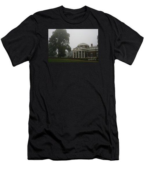 Misty Morning At Monticello Men's T-Shirt (Athletic Fit)