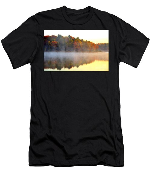 Misty Morning At Stoneledge Lake Men's T-Shirt (Athletic Fit)