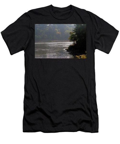 Misty Morning Men's T-Shirt (Slim Fit) by Kay Novy