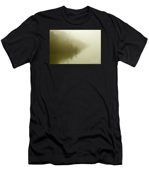 Misty Morning Reflection. Men's T-Shirt (Athletic Fit)