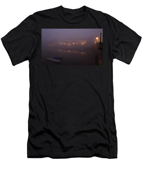 Misty Richmond Upon Thames Men's T-Shirt (Slim Fit) by Maj Seda