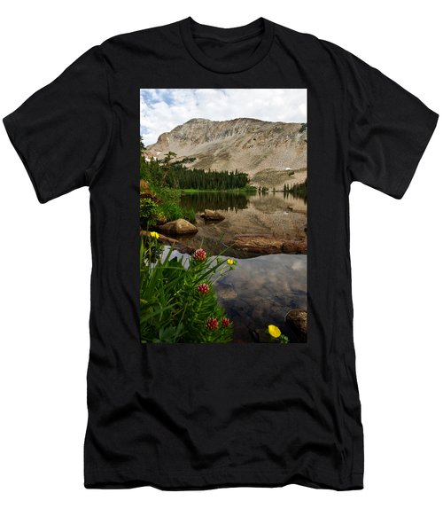 Mitchell Lake Reflections Men's T-Shirt (Athletic Fit)